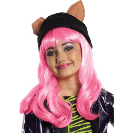 Morris Costumes Girls Tv & Movie Characters Children Wig Pink One Size, Style RU52814