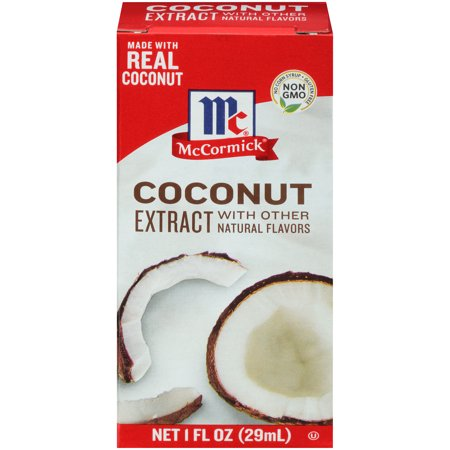 McCormick® Coconut Extract With Other Natural Flavors, 1 fl oz