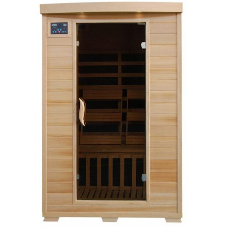 BlueWave SA2409 Coronado-Hemlock 2 Person FAR Infrared Sauna With Carbon Heaters