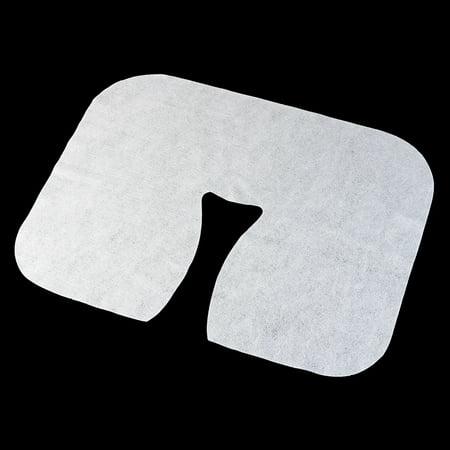 Moaere 100 Pcs Disposable Massage Table Face Rest Cushion Covers Headrest Cradle Sheets - image 6 de 9