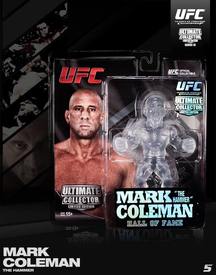 Round 5 UFC Mark Coleman Limited Edition Series 13 Action Figure -750 Made by