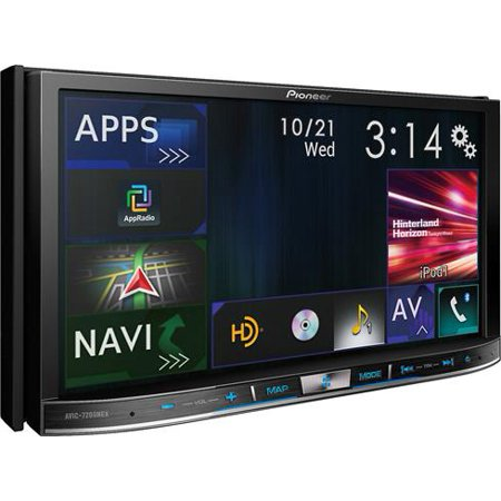 """Pioneer AVIC-7200NEX In Dash Double Din 7"""" Touchscreen DVD Navigation Receiver with Apple Car Play and... by"""