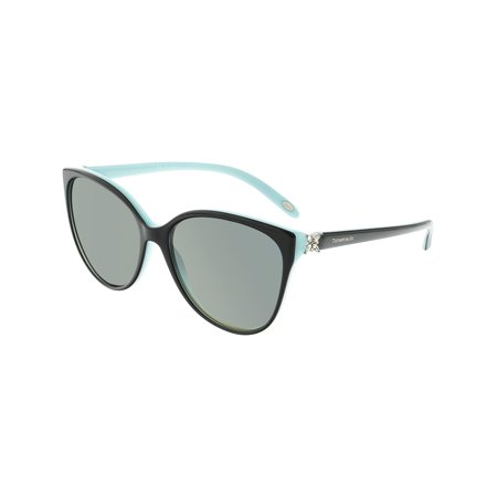 Tiffany And Co. Women's Polarized TF4089B-8055T3-58 Blue Butterfly Sunglasses](Tiffany And Co Bags)