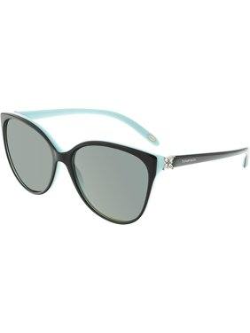 ac18952b3af Product Image Tiffany And Co. Women s Polarized TF4089B-8055T3-58 Blue  Butterfly Sunglasses