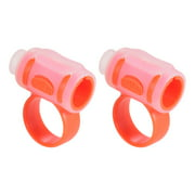 2pcs Drum Stick Control Clip ABS + Silicone Material Drumsticks Accessories for Drummer Beginner