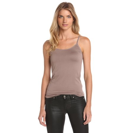 Vanity Fair Womens Seamless Tailored Camisole, L, Walnut