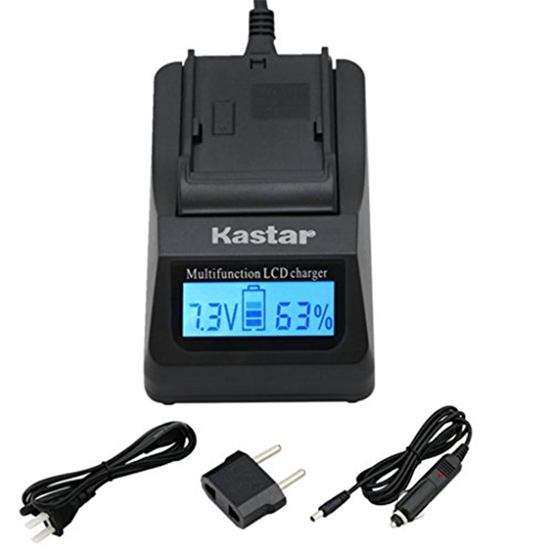Kastar Ultra Fast Charger(3X faster) Kit for Nikon Coolpi...