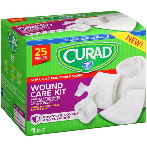 Curad Assortment Wound Care Kit