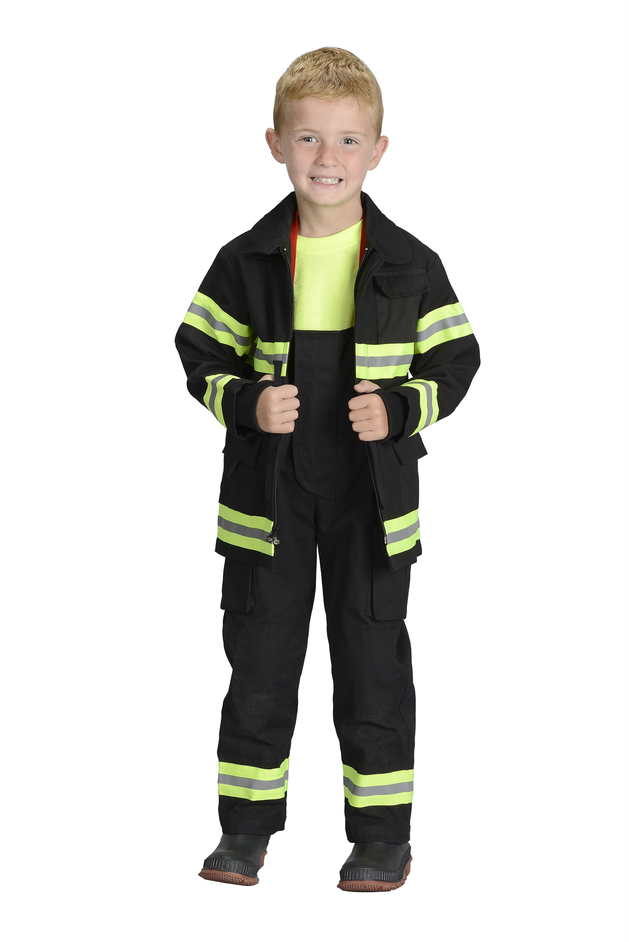 Jr. Firefighter Suit New YORK In Black or Tan by Aeromax