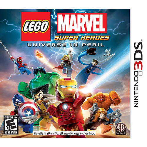 Lego: Marvel Super Heroes: Universe in Peril (Nintendo 3DS)