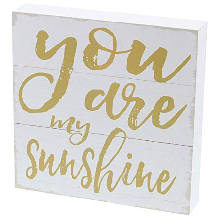 Barnyard Designs You are My Sunshine Box Sign Home Decor Wood Sign with Sayings 8