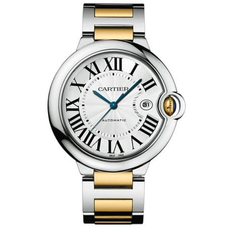 Cartier Men's Ballon Bleu Watch Swiss Automatic Sapphire Crystal W69009Z3