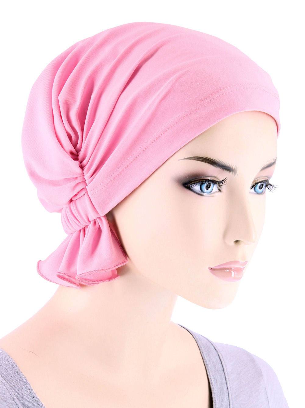Turban Plus The Abbey Cap ® Womens Chemo Hat Beanie Scarf Turban for Cancer  Blended Knit Light Pink 9c64c99db598