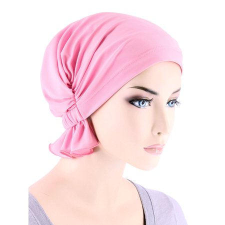 Turban Plus The Abbey Cap ® Womens Chemo Hat Beanie Scarf Turban for Cancer  Blended Knit 6a4e2cad49d0