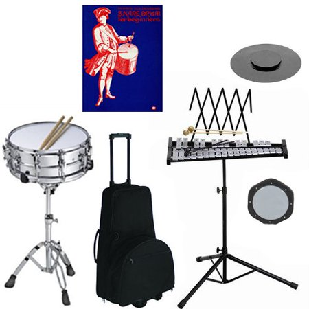 band directors choice complete student snare drum kit bell kit pack w stand wheeled double. Black Bedroom Furniture Sets. Home Design Ideas