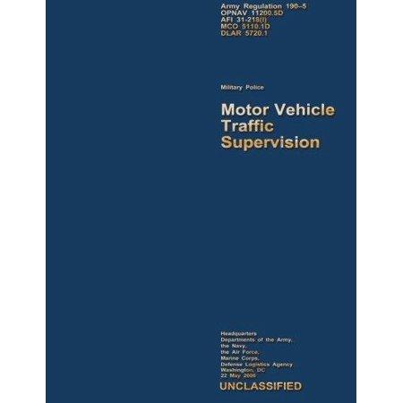 Motor Vehicle Traffic Supervision