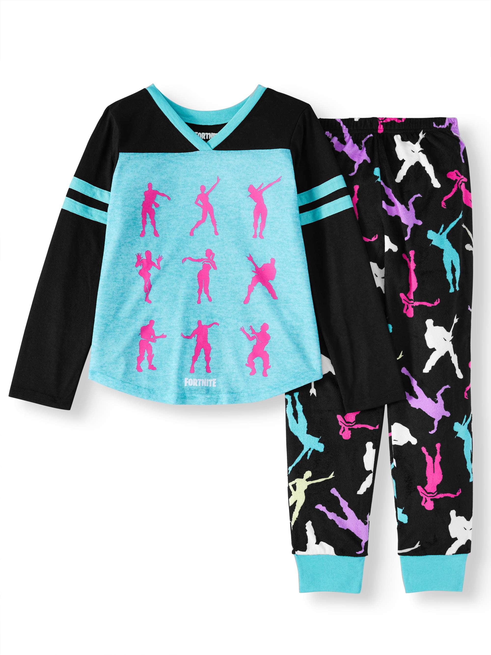 Wonder Woman Girls Big 2 Piece Jersey Pajama Set