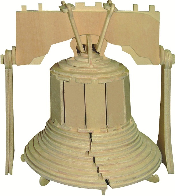 Liberty Bell - 3D Jigsaw Woodcraft Kit Wooden Puzzle