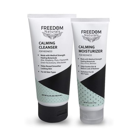 FREEDOM Naturals Calming Cleanser and Calming Moisturizer Bundle