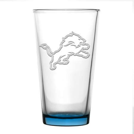 Detroit Lions 16oz. Embossed Pint Glass - No Size