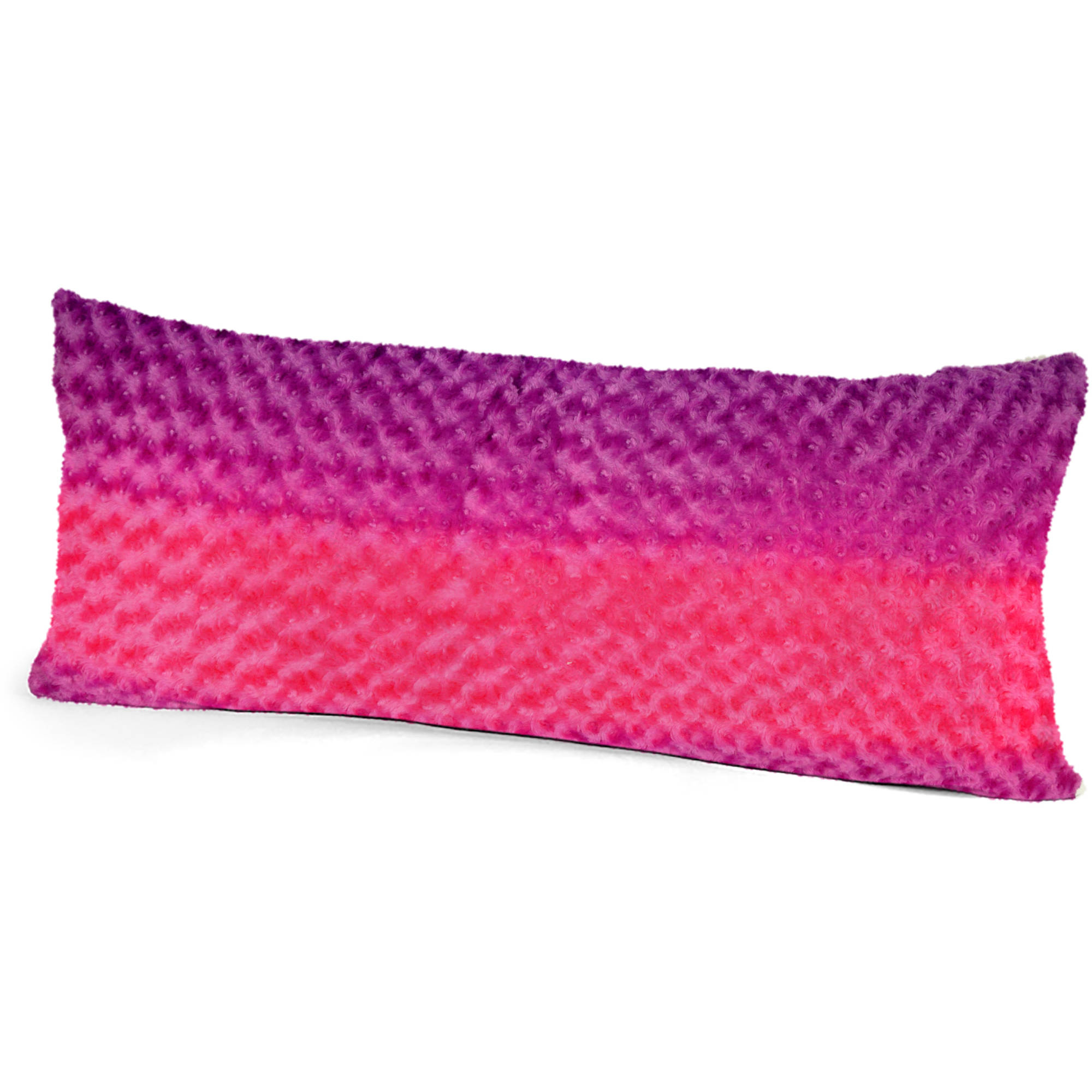 Your Zone Ombre Fur Body Pillow, 1 Each