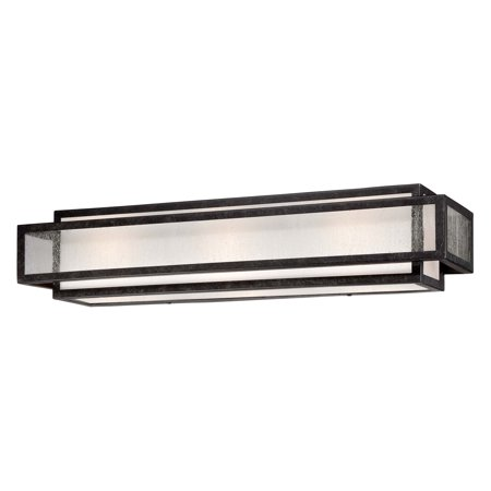 Minka Lavery Camden Square 4873-283 Bathroom Vanity (Square Bathroom Lights)