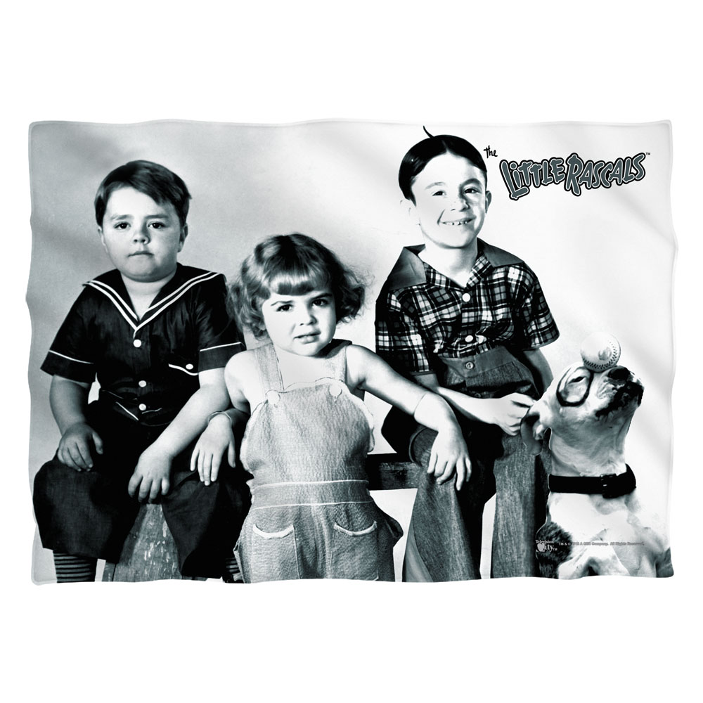 Little Rascals The Gang Poly 20X28 Pillow Case White One Size