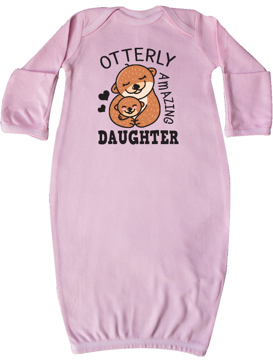 inktastic Mothers Day Otterly Amazing Daughter Toddler T-Shirt