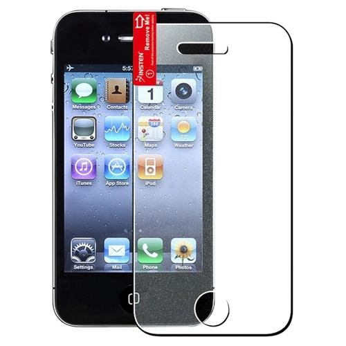 Insten For iPhone 4 / 4S Diamond Finishing Screen Protector - 3 Pack