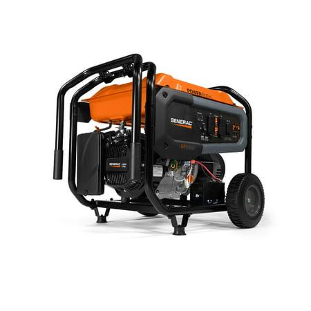 Generac 7686 GP8000E - 8000 Watt Portable Generator, Electric Start, 420 PR 49 St./CAN (Generac Generators 8000 Watt)
