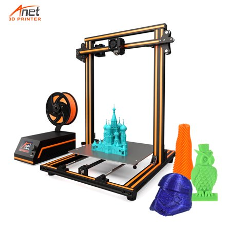 Anet E16 High-precision DIY 3D Printer Self-assembly Aluminum Alloy Frame LCD Display...