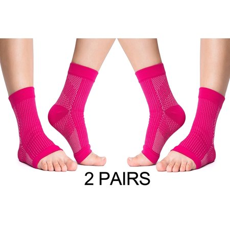 Plantar Fasciitis Socks Arch Heel Ankle Support Foot Compression Sleeve