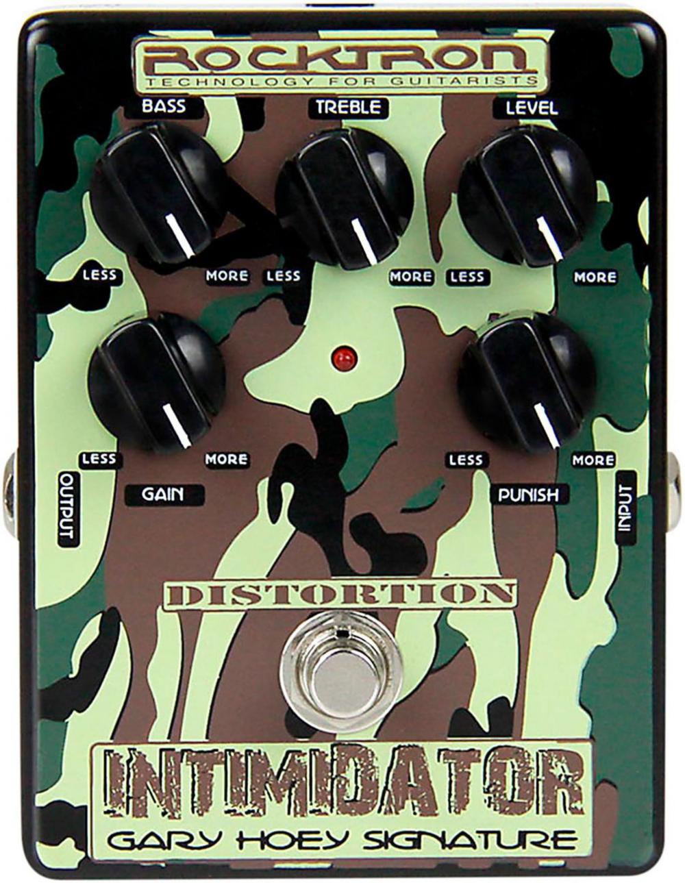 Rocktron Gary Hoey Intimidator Guitar Distortion Pedal by Rocktron