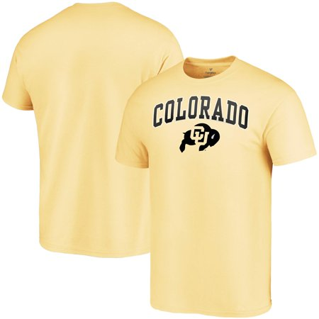 Colorado Buffaloes Fanatics Branded Campus T-Shirt - Gold