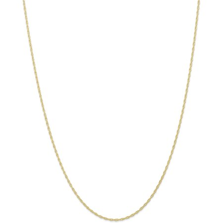 - 10k 1.35mm Carded Cable Rope Chain