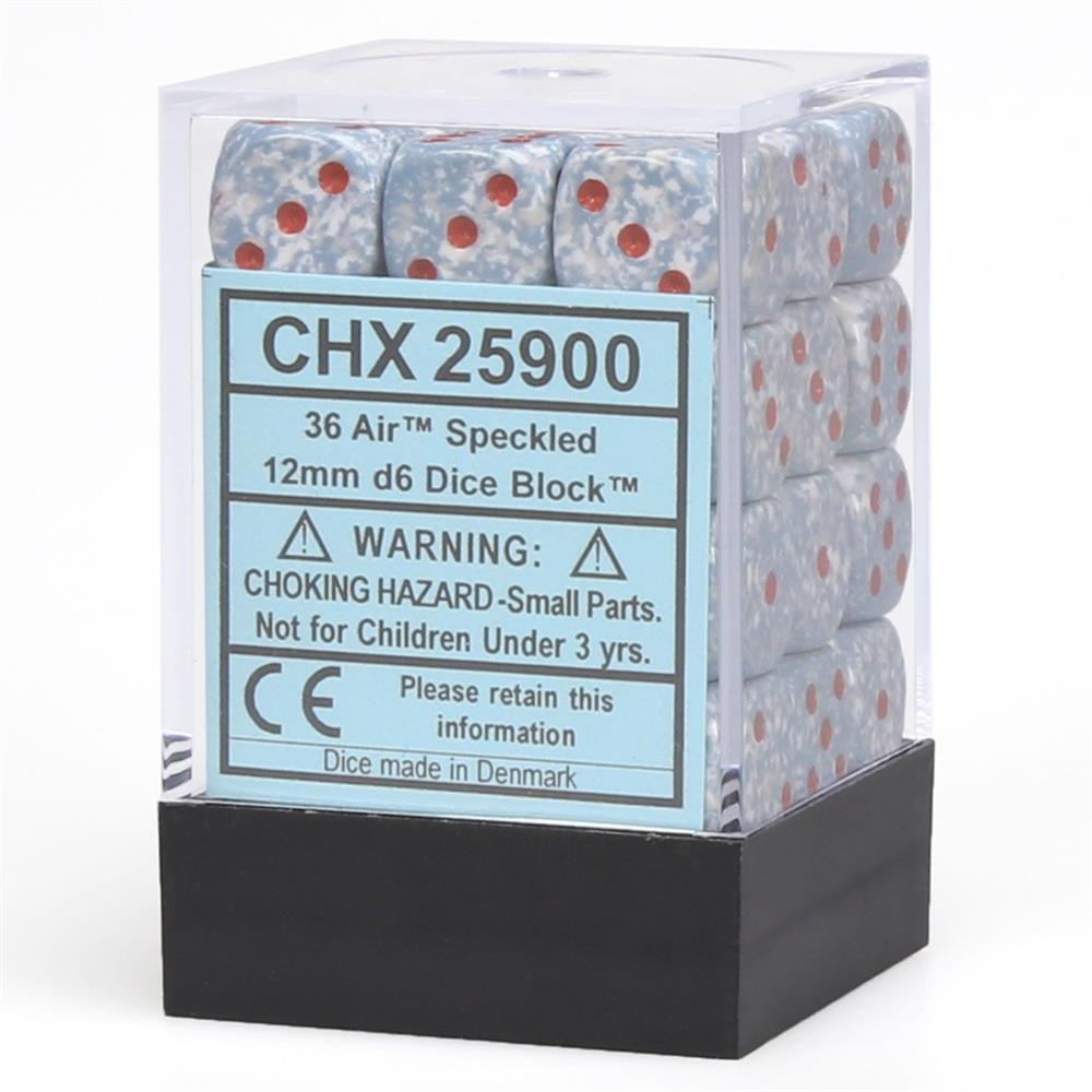 d6Cube12mmSP Air (36) Chessex Manufacturing CHX25900