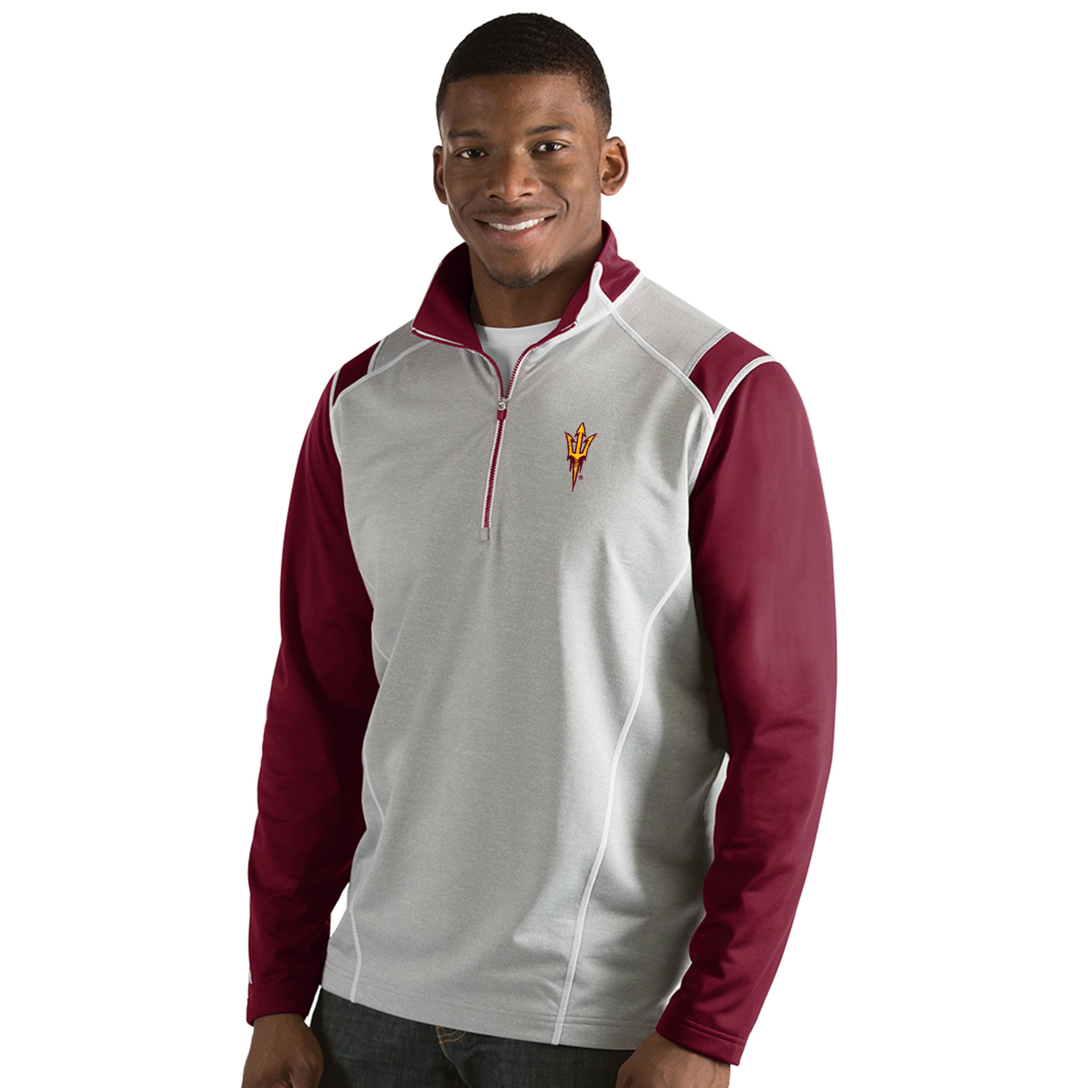 Arizona State University Men's Automatic Half Zip Pullover