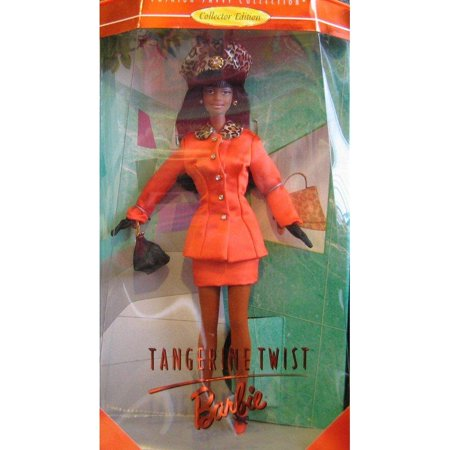 bbd0b97c93d239 Tangerine Twist BARBIE AA Doll - Collector Edition Fashion Savvy Collection  by Kitty Black Perkins (1997) - Walmart.com