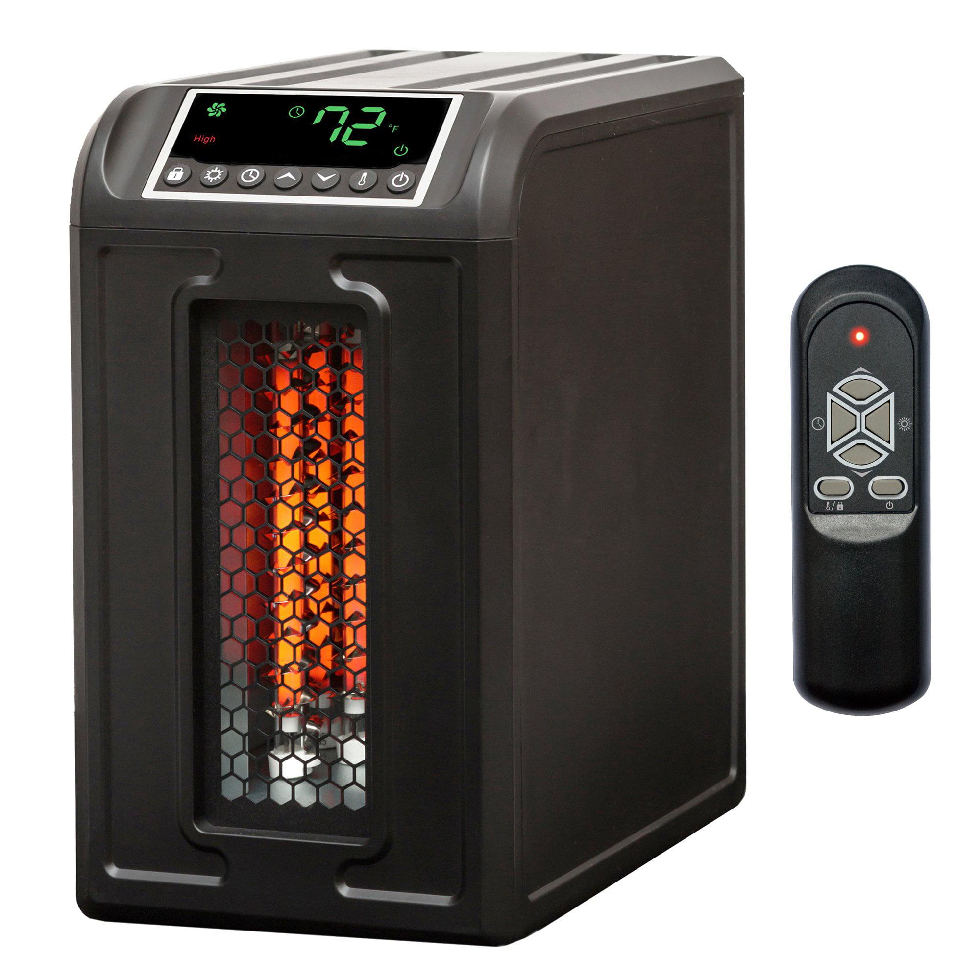 Lifesmart 3 Element 1500W Quartz Infrared Electric Portable Room Space Heater