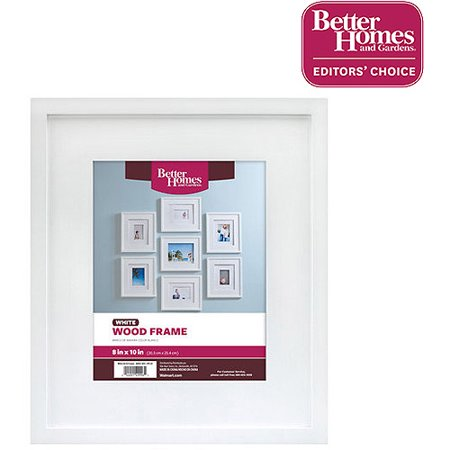 better homes and gardens basics white picture frame 8 x 10