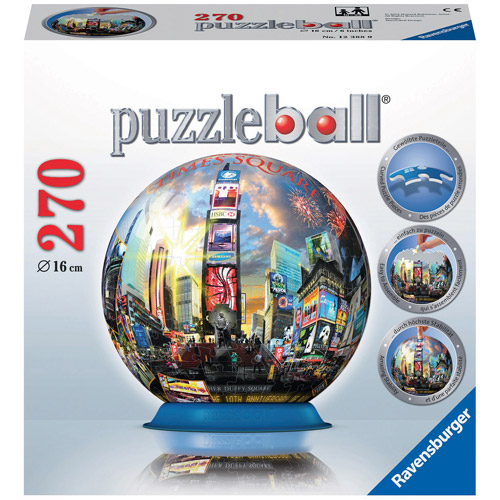 Ravensburger Times Square NYC Puzzleball, 270 Pieces