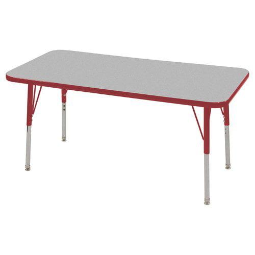 """ECR4Kids Rectangular Table 24""""x36"""""""