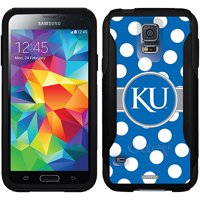 University of Kansas Polka Dots Design on OtterBox Commuter Series Case for Samsung Galaxy S5