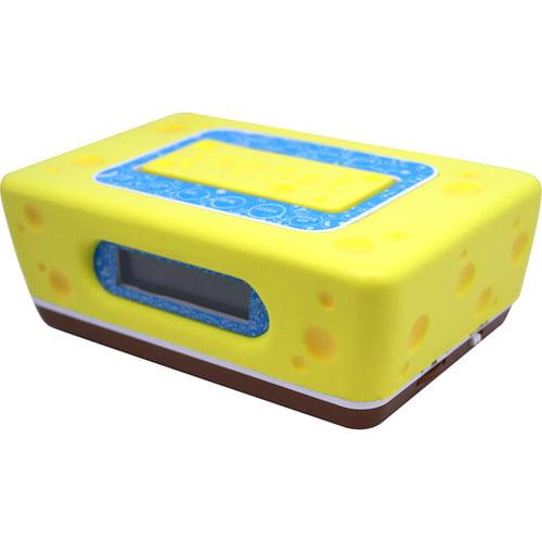 Sakar S55062 SpongeBob Clock Radio