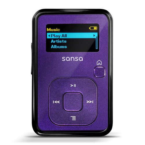 SanDisk SDMX18R-004GI-A5 Sansa Clip+ 4GB MP3 Player, Indigo