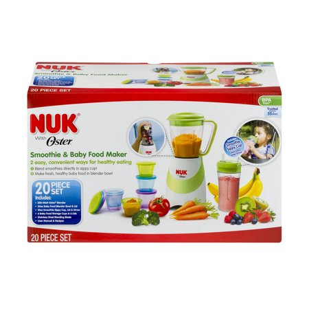 Nuk With Oster Smoothie Amp Baby Food Maker 20 0 Piece S
