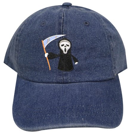 City Hunter C104 Halloween Scary Movie Cotton Baseball Caps - Denim - Halloween Scary Quotes From Movies