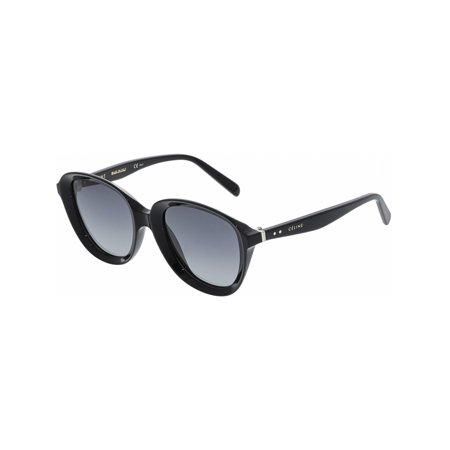 Celine Women's Gradient CL41448S-807-51 Black Oval (Celine Large Audrey Sc 1755 Black Sunglasses)