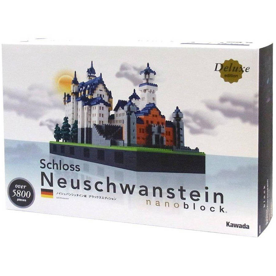 nanoblock Deluxe Edition Level 7, Schloss Neuschwanstein, 5800 Pieces