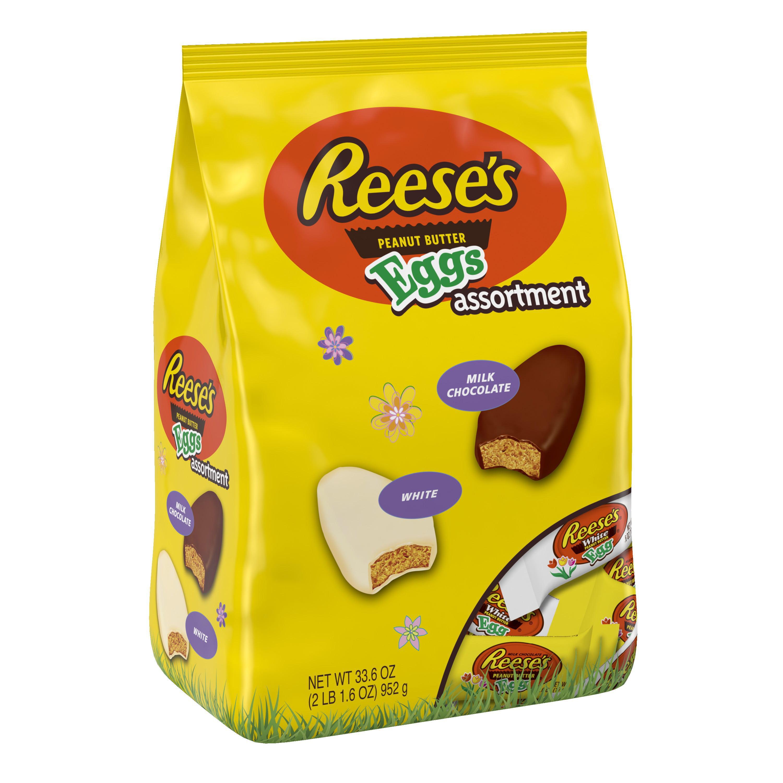 Reese's, Easter Peanut Butter Eggs Assortment Candy, 33.6 Oz